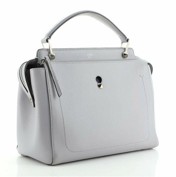 Fendi DotCom Convertible Satchel Leather Medium    eBay