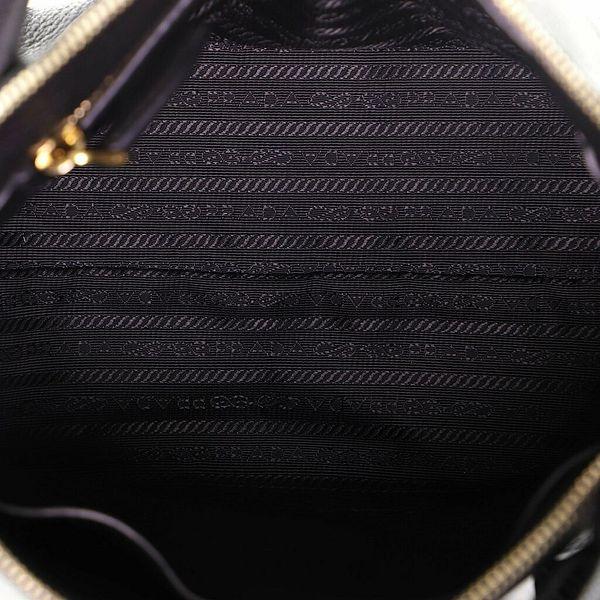 Prada Dual Strap Zip Tote Vitello Daino Small    eBay