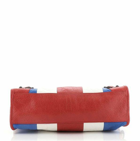 Balenciaga City Classic Studs Bag Striped Leather Small    eBay
