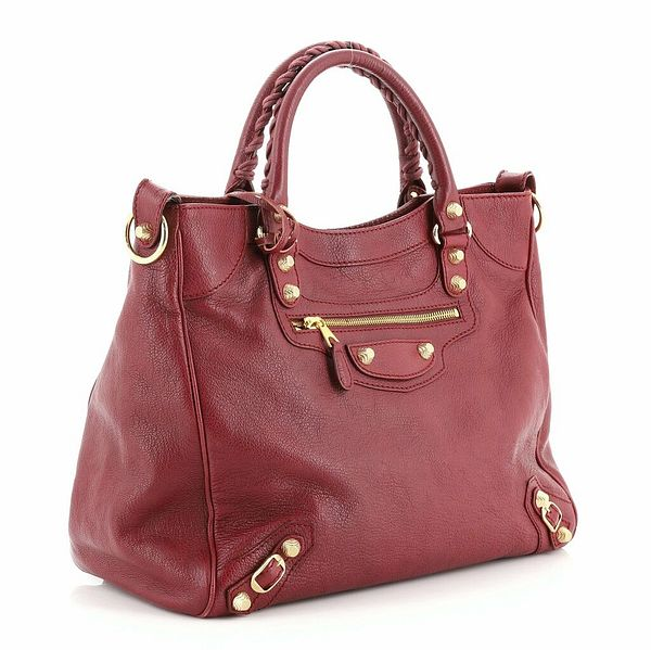 Balenciaga City Classic Studs Bag Leather Small  | eBay