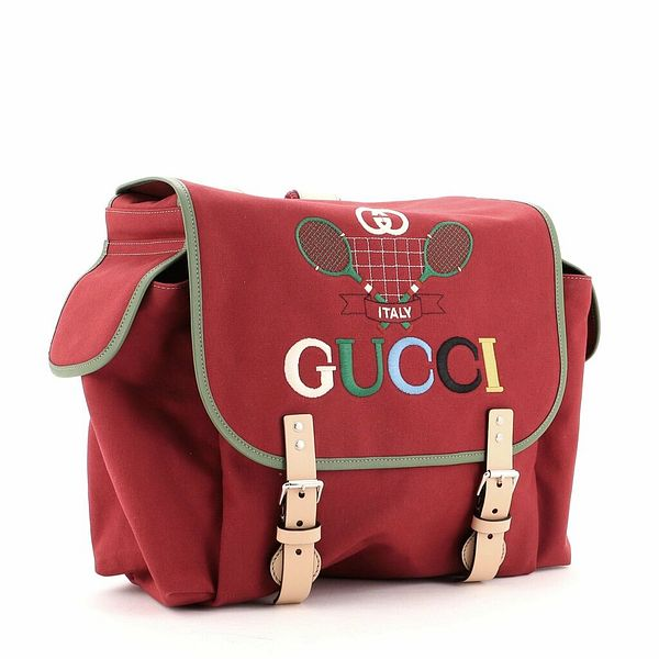 Gucci Children's Backpack Embroidered Canvas    eBay