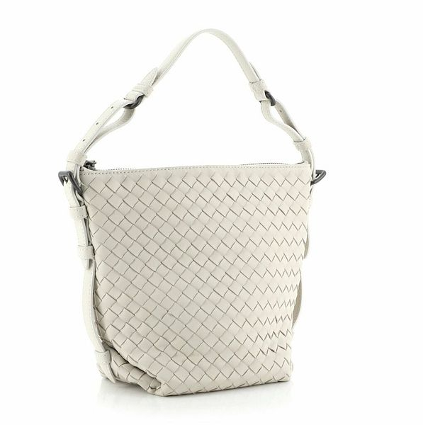 Bottega Veneta Zip Bucket Tote Intrecciato Nappa Small  | eBay