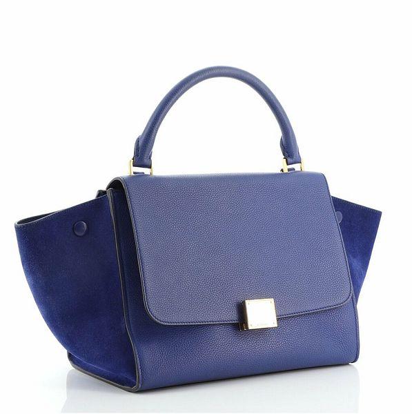 Celine Trapeze Bag Leather Small    eBay