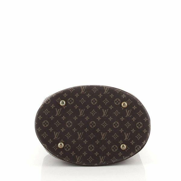 Louis Vuitton Petit Bucket Bag Mini Lin  | eBay
