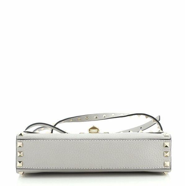 Valentino Rockstud Flip Lock Flap Bag Leather Medium    eBay