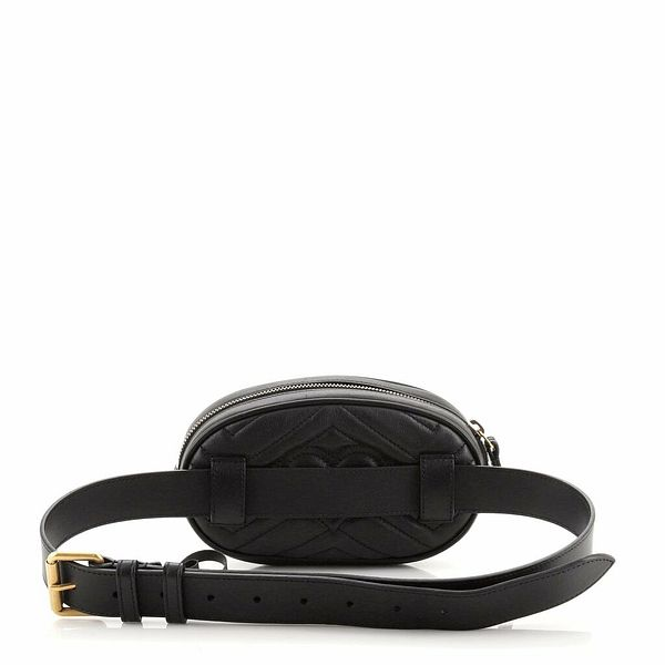 Gucci GG Marmont Belt Bag Matelasse Leather 85  | eBay