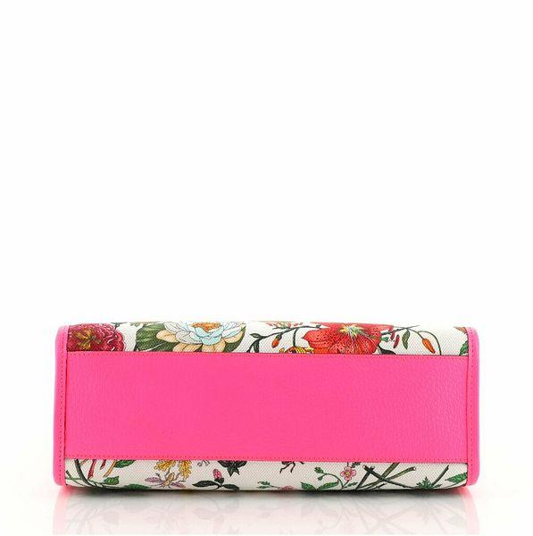 Gucci Convertible Open Tote Flora Canvas Small  | eBay