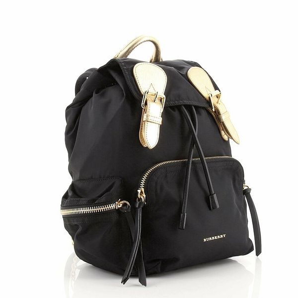 Burberry Rucksack Backpack Nylon with Leather Small    eBay