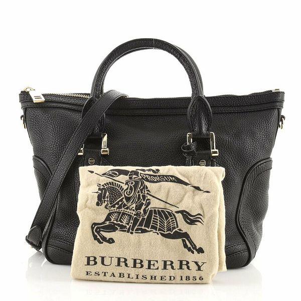 Burberry Kirley Satchel Leather Medium  | eBay