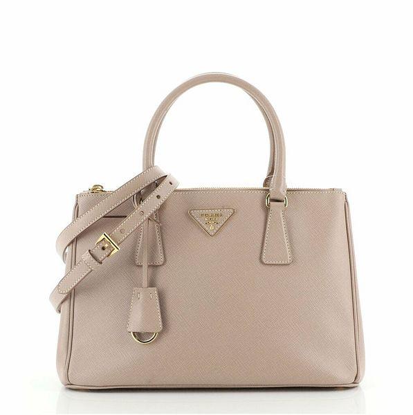 Prada Double Zip Lux Tote Saffiano Leather Small  | eBay