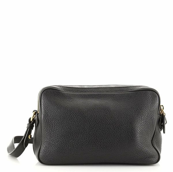 Prada Double Zip Camera Bag Vitello Phenix Medium  | eBay