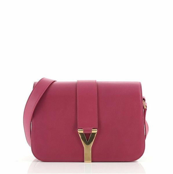 Saint Laurent Chyc Flap Bag Leather Medium    eBay