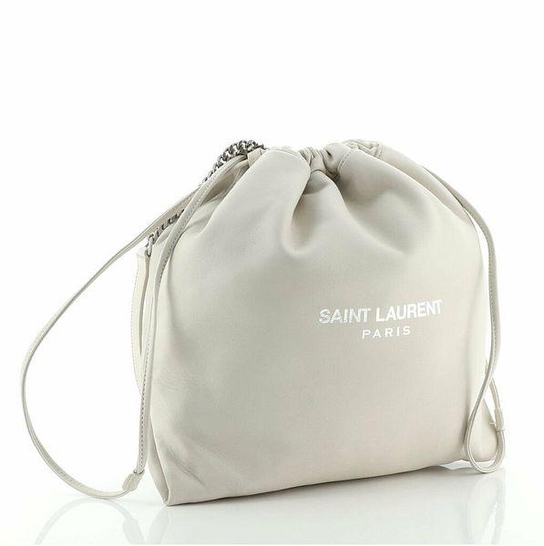 Saint Laurent Teddy Bucket Bag Leather Small    eBay