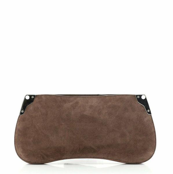 Prada Sidonie Crossbody Bag Suede  | eBay