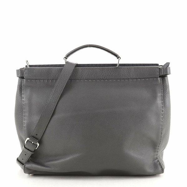 Fendi Selleria Peekaboo Bag Leather XL    eBay