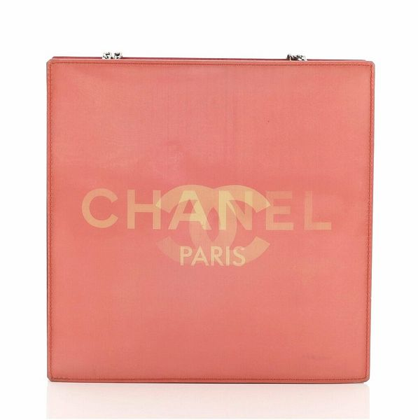 Chanel Vintage Holographic Chain Tote Vinyl Small    eBay