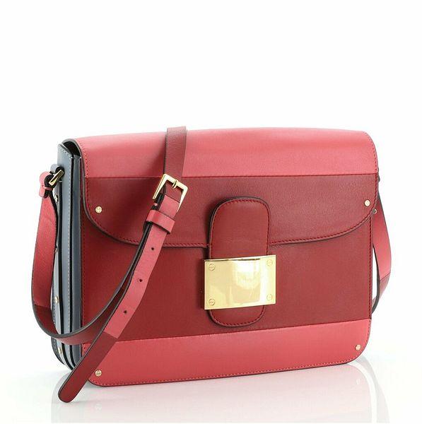 Valentino Rivet Shoulder Bag Leather Small  | eBay