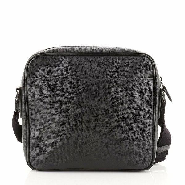 Prada Slit Pocket Messenger Saffiano Leather Small    eBay