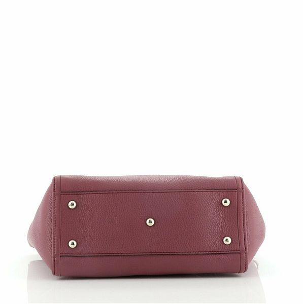 Gucci Soho Convertible Top Handle Bag Leather Medium  | eBay