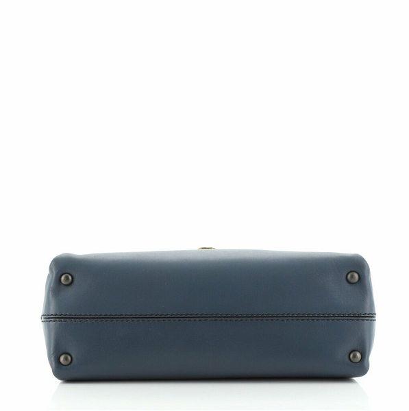 Bottega Veneta Piazza Top Handle Bag Leather with Intrecciato Detail Small    eBay