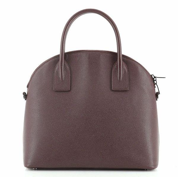 Saint Laurent Dome Top Handle Bag Leather Medium  | eBay