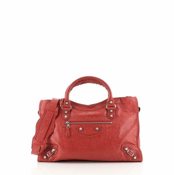 Balenciaga City Giant Studs Bag Leather Medium    eBay