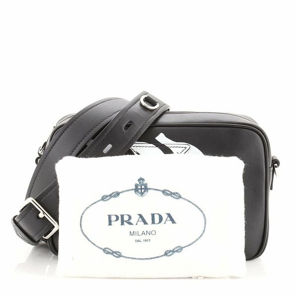 Prada Camera Bag Printed City Calf Medium    eBay