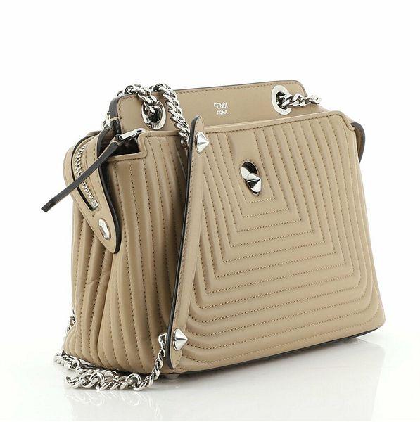 Fendi Дотком клик наплечная сумка стеганая кожа небольшой  | eBay