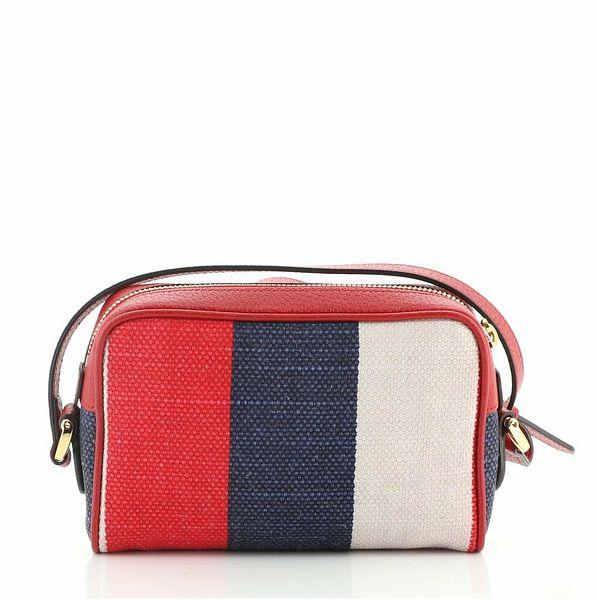 Gucci Ophidia Shoulder Bag Striped Canvas Mini  | eBay