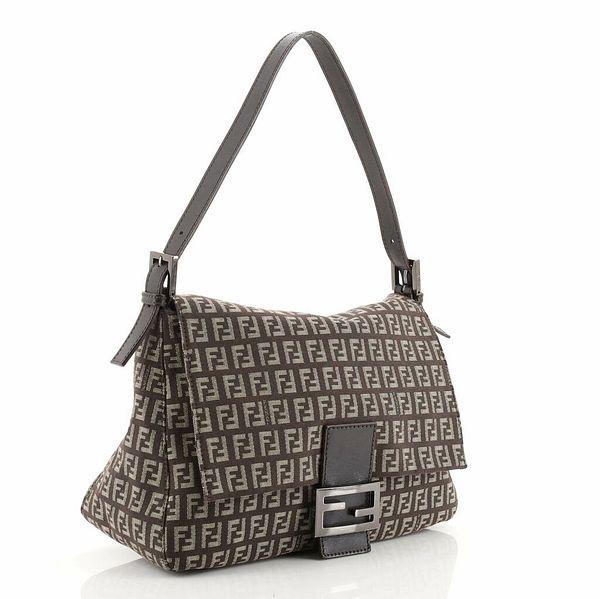 Fendi Mama Forever Bag Zucchino Canvas  | eBay