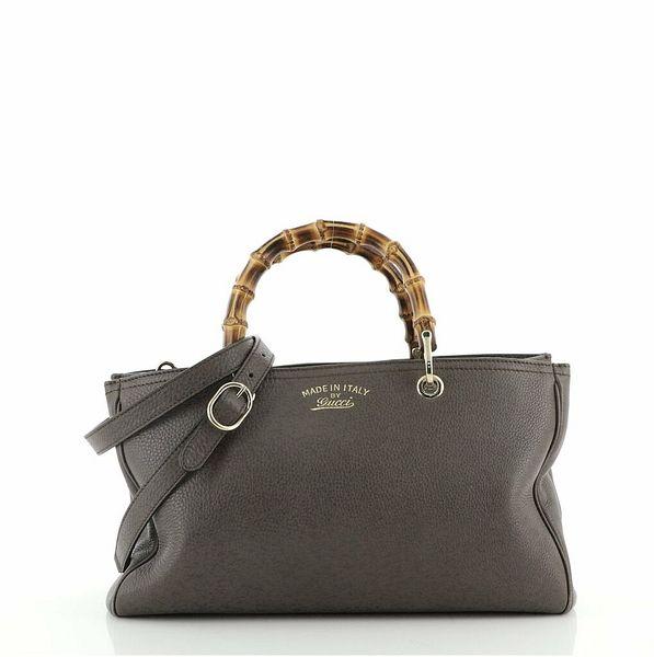 Gucci Bamboo Shopper Tote Leather Medium  | eBay