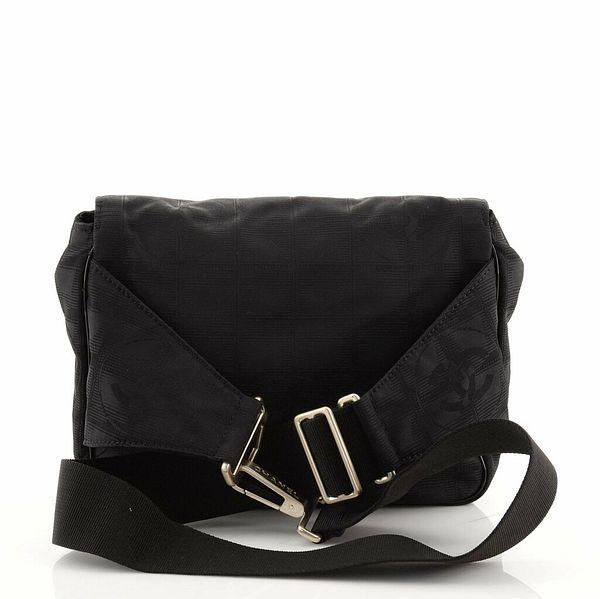 Chanel Travel Line Flap Waist Bag Nylon Medium    eBay