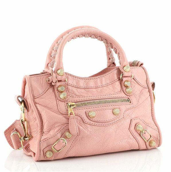 Balenciaga City Giant Studs Bag Leather Mini  | eBay