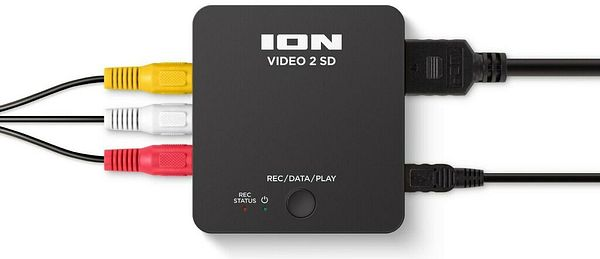 ION Video 2 SD Analog to Digital Standalone VHS Conversion Recorder    eBay