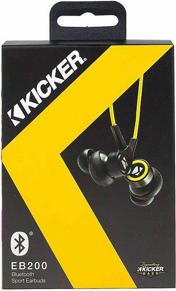 Kicker EB200 Bluetooth Wireless Earbuds Headphones with Microphone   Ebay