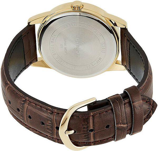 Casio Men's Quartz Stainless Steel Brown Leather Watch CASMTPV001GL-9B   Ebay