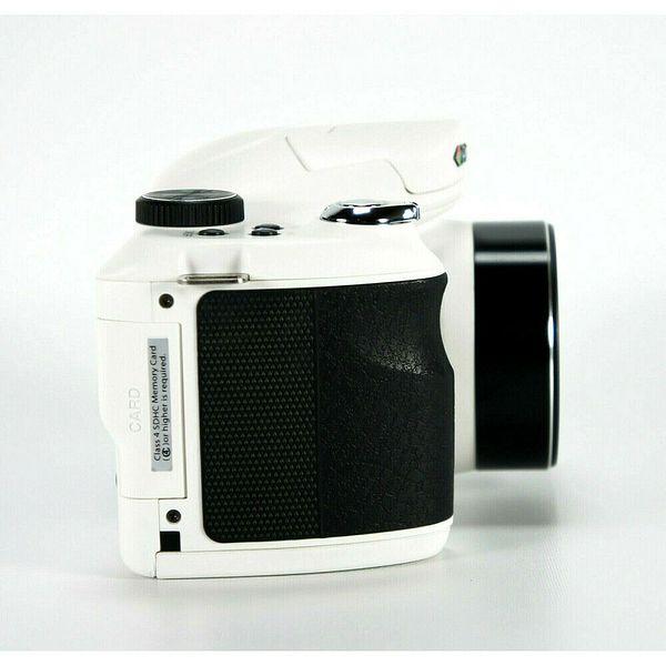 Vivitar IE3035 18MP Bridge Camera w/ 8GB SD Card Case and Tripod - (White) | Ebay
