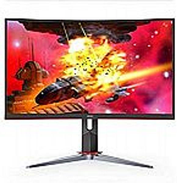 "AOC CQ32G2S 32"" Curved Frameless QHD Gaming Monitor"