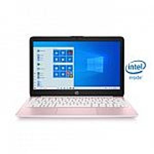 "Walmart HP Stream 11.6"" Laptop (Celeron N4020 4GB, 64GB, 11-ak0080wm) Pink"