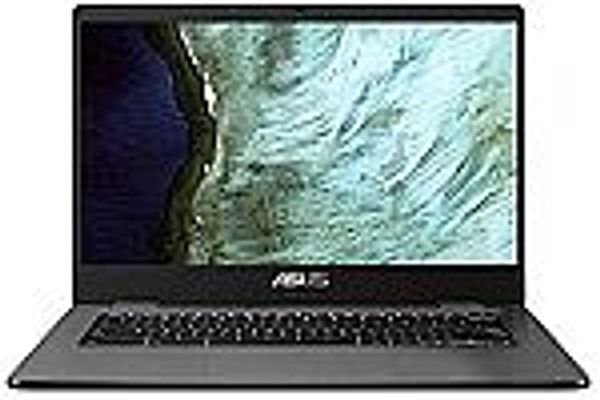 Asus Intel Celeron N3350 4GB Memory 32GB eMMC 14-Inch Chromebook (Slate Gray) @Amazon