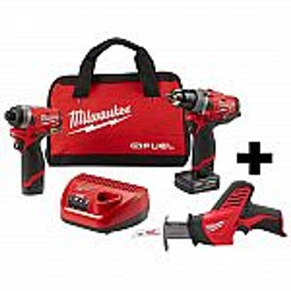 Milwuakee M12 Kits with Free Tool (Home Depot Special Buy of the Day)