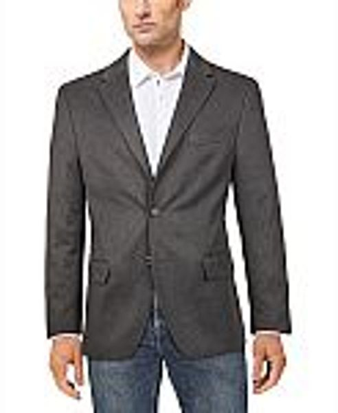 Tommy Hilfiger Men's Modern-Fit Solid Sport Coat