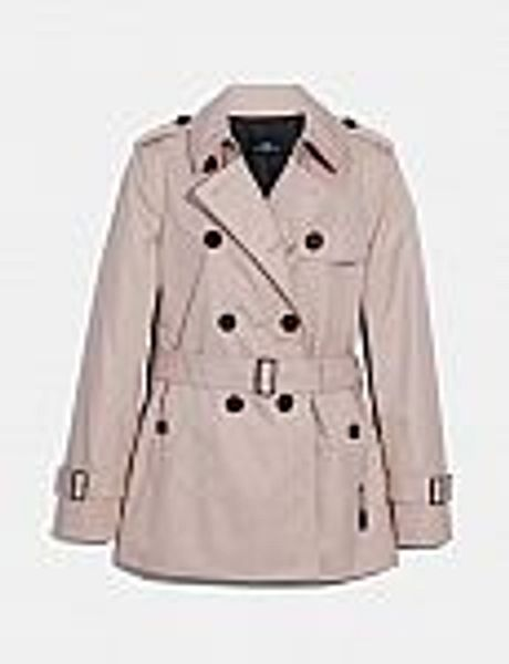 Coach Outlet - Short Trench $125