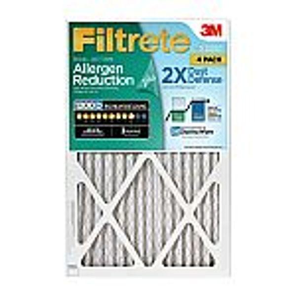 4-Pack Filtrete Allergen Reduction Plus 2X Dust Filter (Various Sizes)