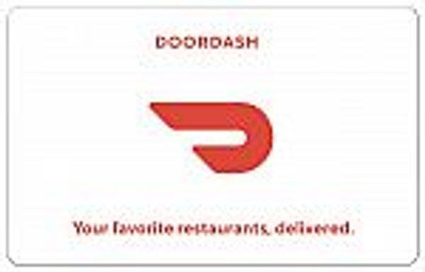 $100 DoorDash, Uber Eats Gift Card