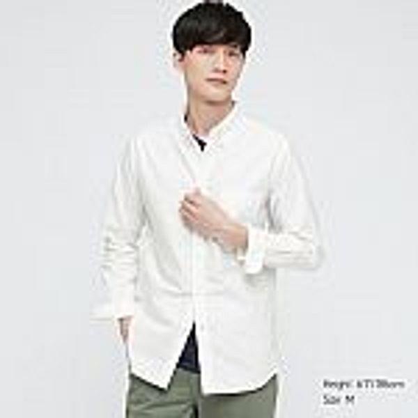 UNIQLO Men Oxford Slim-Fit Long-Sleeve Shirt $19.90