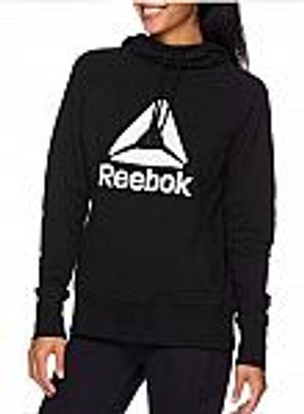 Reebok Women's Athleisure Fleece Hoodie Sweatshirt