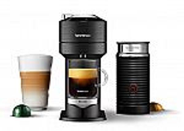 Nespresso Vertuo Next Premium Coffee & Espresso Maker by Breville w/ Aeroccino Milk Frother