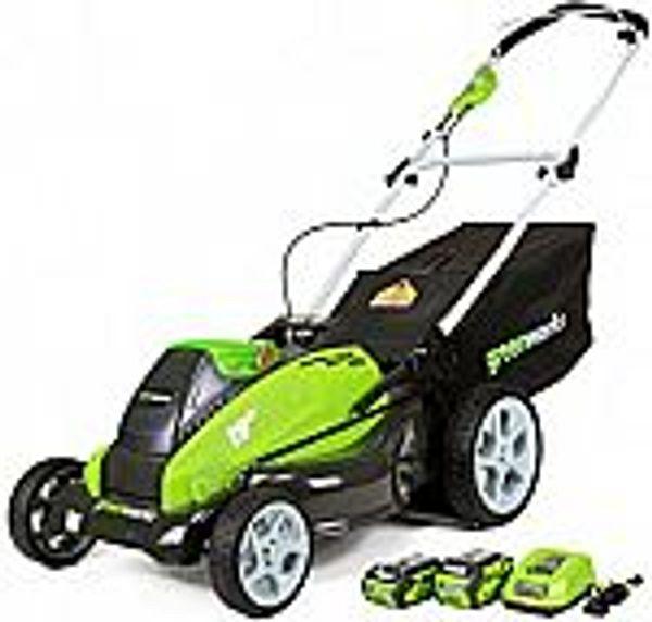 Greenworks G-MAX  Cordless Lawn  w/ Batteries