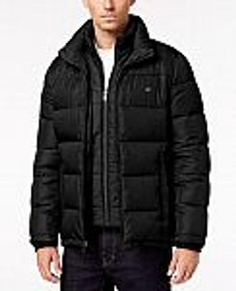 Calvin Klein Men's Full-Zip Puffer Coat